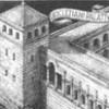 Raffigurazione delle mura del Palazzo di Diocleziano in Spalato