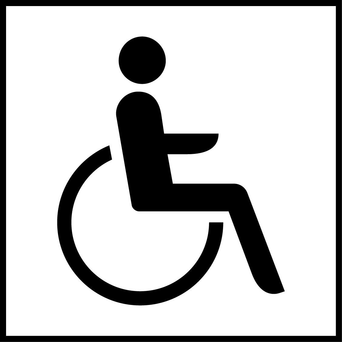 Lift and toilette for disabled people