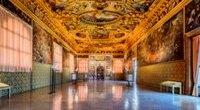 Palazzo ducale Venezia sala dello scrutinio 200x110