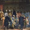 Gabriele Caliari, Il doge Marino Grimani riceve i doni dagli ambasciatori persiani, XVI secolo