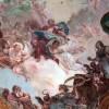 Soffitto dettaglio con Pubblica Felicità_Chiesetta del Doge, Palazzo Ducale, Venezia
