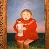 Foto Henri Rousseau L'Enfant à la poupée/ Bambina con bambola, 1904 – 1905 ca. olio su tela, cm 66 x 51 Parigi, Musée de l'Orangerie, Collection J. Walter- P. Guillaume © RMN-Grand Palais (Musée de l'Orangerie)/Franck Raux_particolare