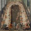 Pietro Longhi (bottega) Convitto in casa Nani alla Giudecca, 1755 Olio su tela, 130 x 97 cm Ca' Rezzonico, Fondazione Musei Civici di Venezia