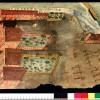 mostra acqua e cibo Palazzo ducale Venezia Spazi dedicati all'agricoltura presso il convento dei Santi Cosma e Damiano 1474, Disegno a penna su pergamena con colorazioni ad acquerello