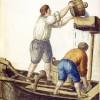 mostra acqua e cibo Palazzo ducale Venezia Giovanni Grevembroch Acquaroli, 1753 Disegno a penna su carta con colorazioni ad acquerello