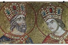 Mosaicisti marciani, I profeti Salomone e Davide, Sec. XIV