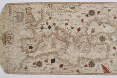 Giorgio Sideri (detto Callapoda da Candia), Carta nautica del Mediterraneo e mar Nero,  1500