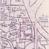 Frate Paolino Minorita. Pianta di Venezia (1346) (particolare della zona marciana), Biblioteca Nazionale Marciana