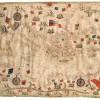 Giorgio Sideri detto Callapoda da Candia att. Carta nautica del Mediterraneo, del mar Nero e del mare d'Azov
