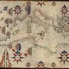 Scuola maiorchina Carta nautica del Mediterraneo, delle coste atlantiche, delle Canarie e Madera, XVII secolo