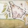 Pianta della Piazza di S. Maura, 1779
