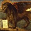 Vittore Carpaccio Leone marciano andante 1516 - Palazzo Ducale