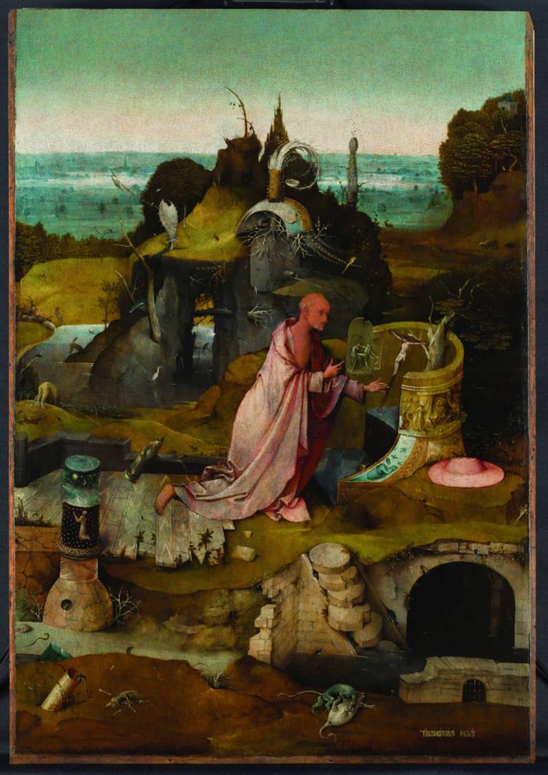 Jheronimus Bosch: Tuin der lusten - middendeel (fontein